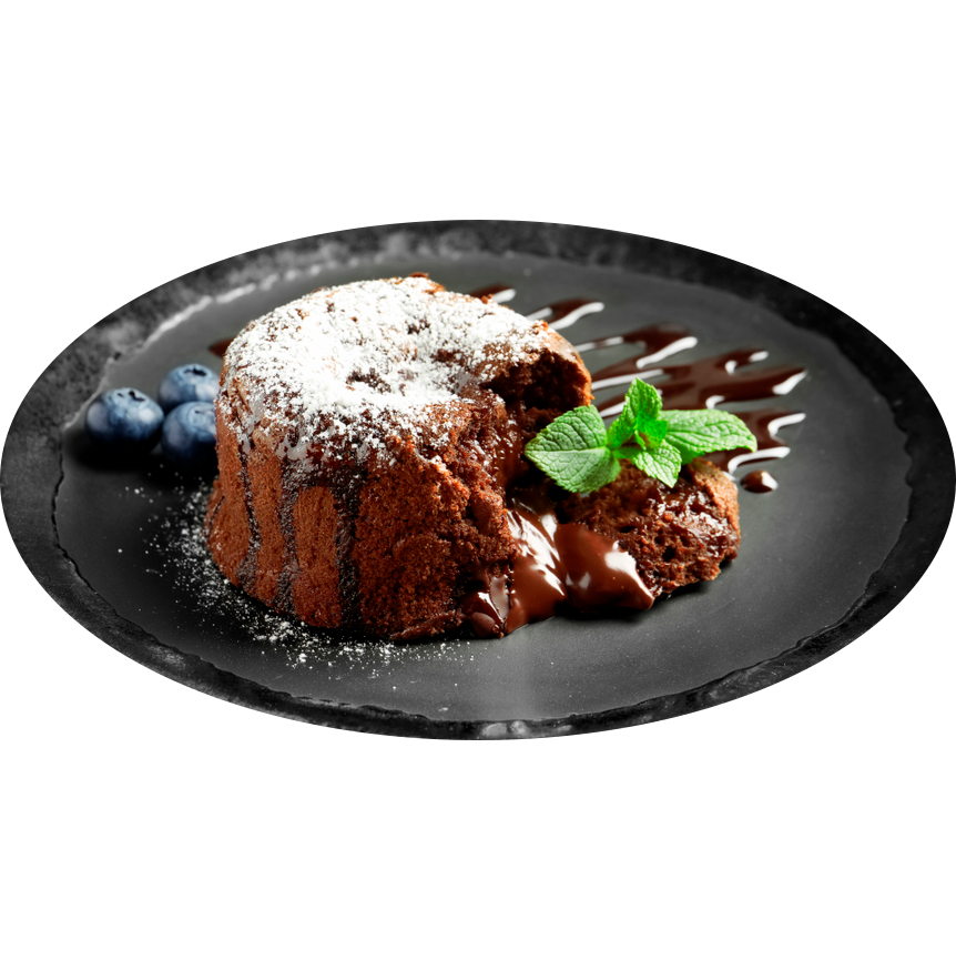 Французкое шоколадное суфле