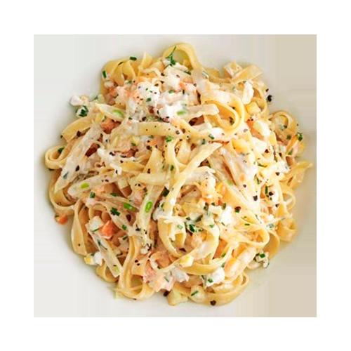 Ароматная паста в сырном соусе