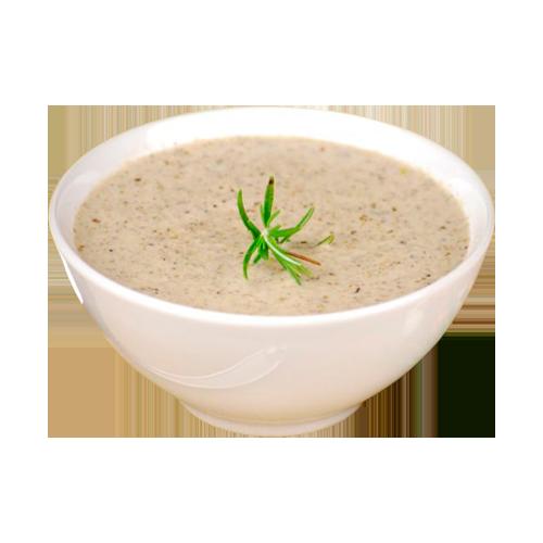 Грибной крем-суп с крутонами