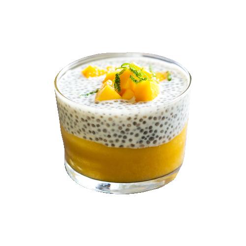 Десерт Чиа пудинг, в котором всего 85 полезных калорий