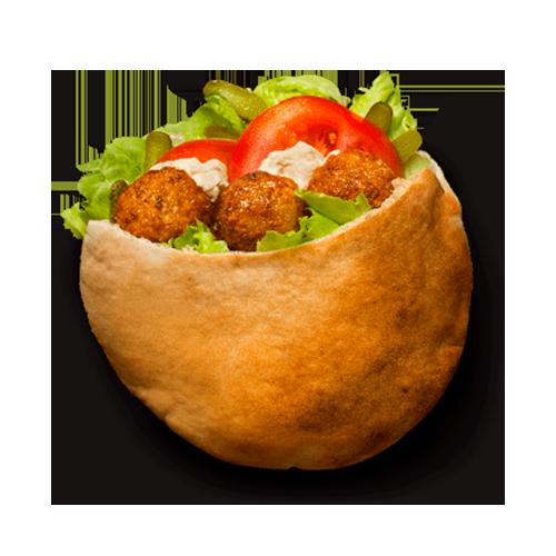 Фалафель с хумусом
